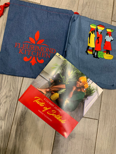Bundle A 1 Book + Talking Ladies Apron (Free Pouch Included)