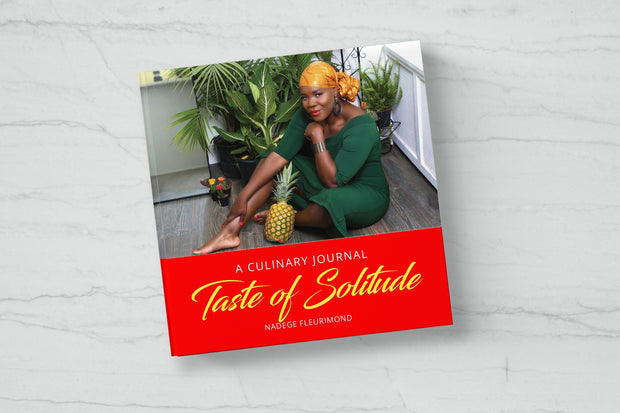 Taste of Solitude: A Culinary Journal Book