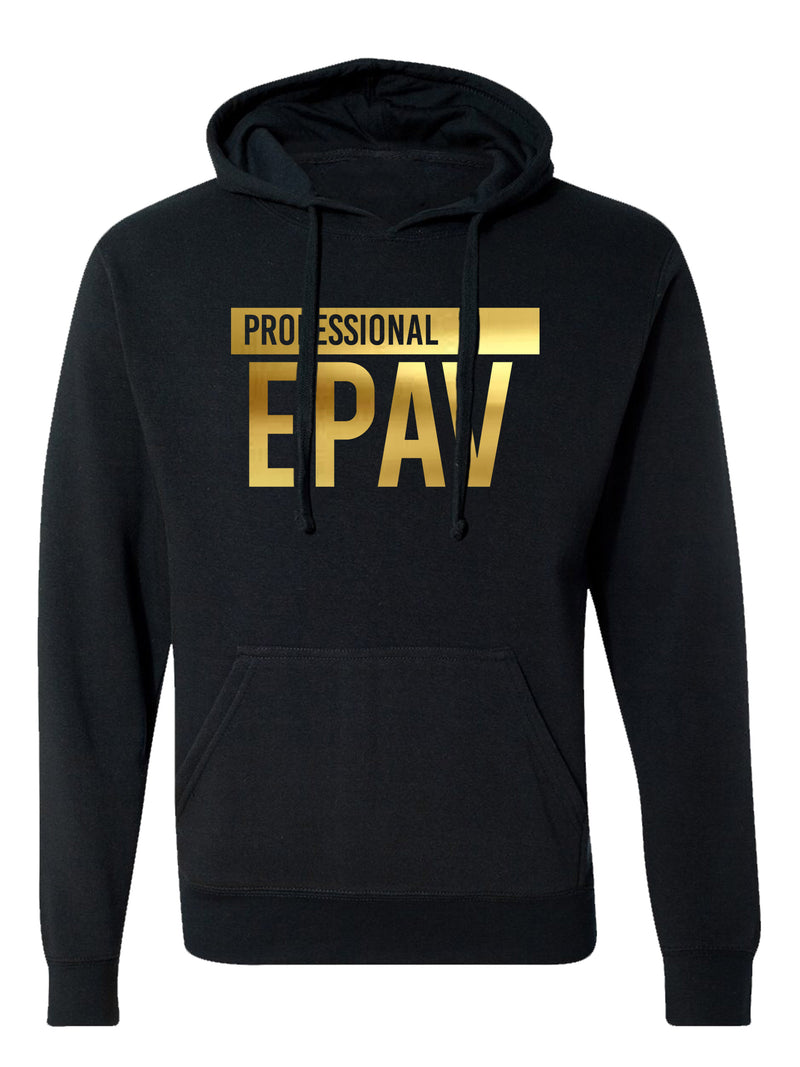 Professional Epav Unisex Hoodie (Metallic Gold Edition)