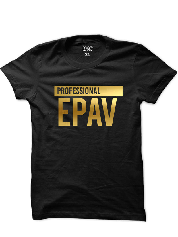 Professional Epav Unisex T-shirt (Metallic Gold Edition)