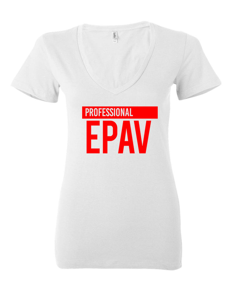 Professional Epav Women Deep V-neck T-Shirt