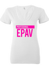 Professional Epav Women Deep V-neck