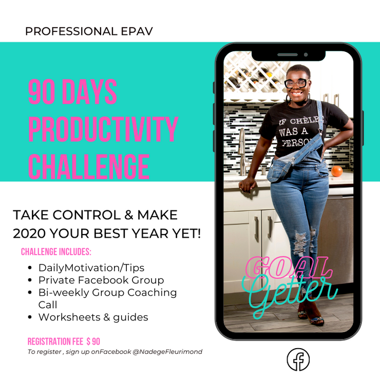 90 Day Productivity Challenge