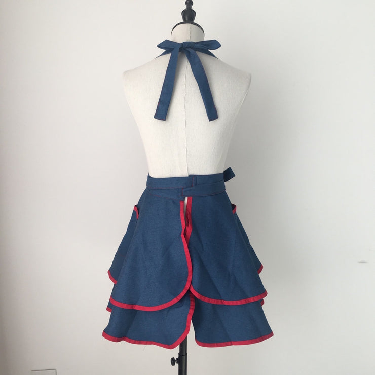 LIMITED EDITION Ladies Ruffled Apron
