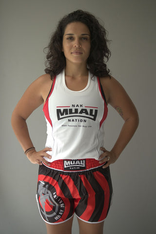 Nak Muay Nation DryFit Bronco Shirts (Women)