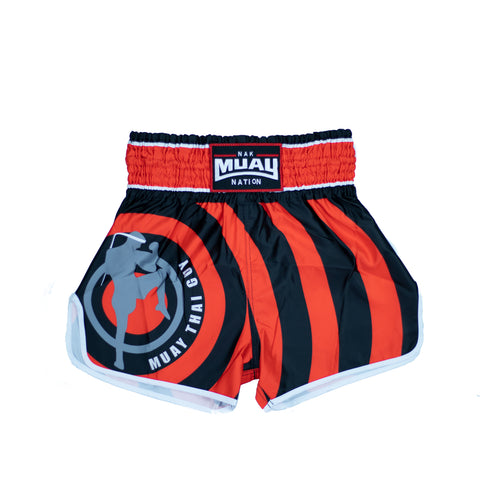 Muay Thai Guy Shorts (Red 3)