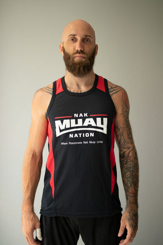 Nak Muay Nation DryFit Arrow Vest