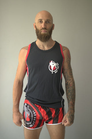 Muay Thai Guy DryFit Bronco Shirts (Men)