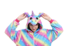Adorable Rainbow Unicorn Onesie Women Head