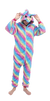 Adorable Rainbow Unicorn Onesie Women