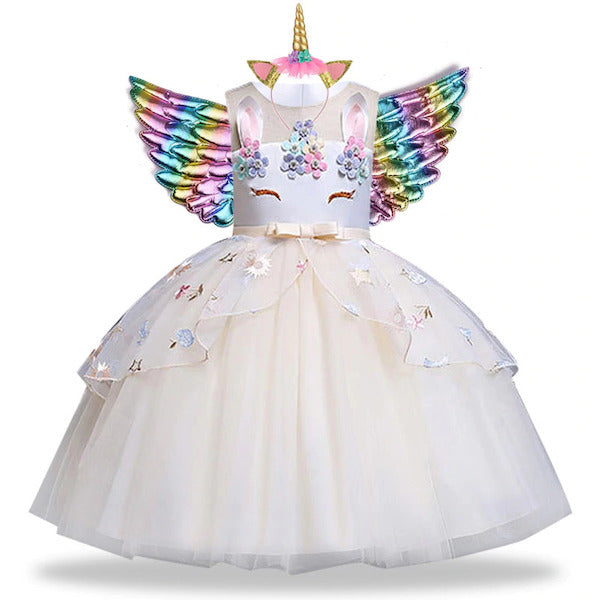 Birthday Dress Tutu for Girls Toddlers