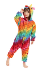 Colorful Unicorn Onesie for Girls Toddler
