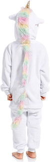 Cute Unicorn Costume for Kids Back