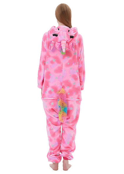 Pink Unicorn Onesie Costume for Women