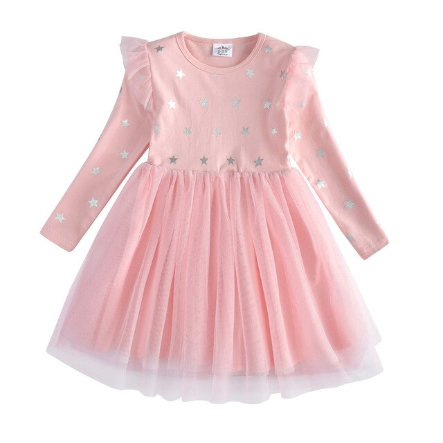 Pink Stars Unicorn Dress Kids