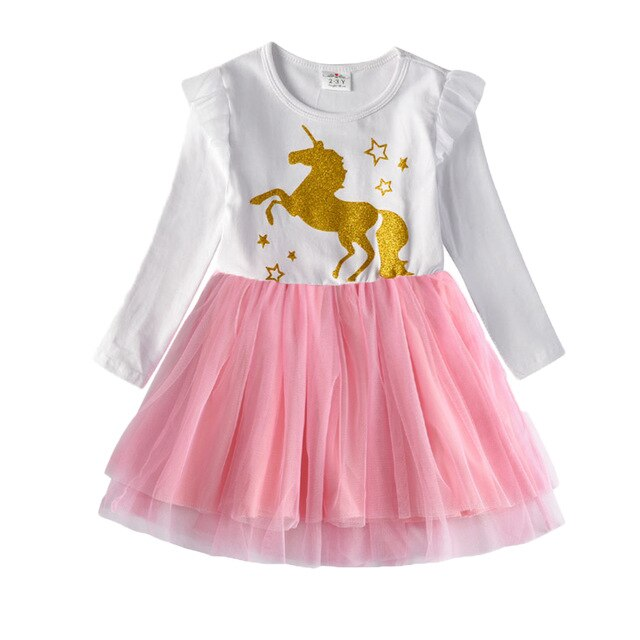 Chic Unicorn Dress for Girls