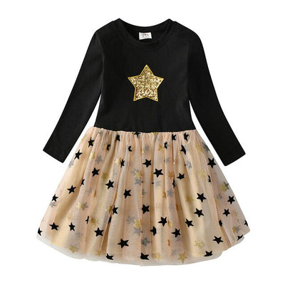 Party Dress Stars Children Party