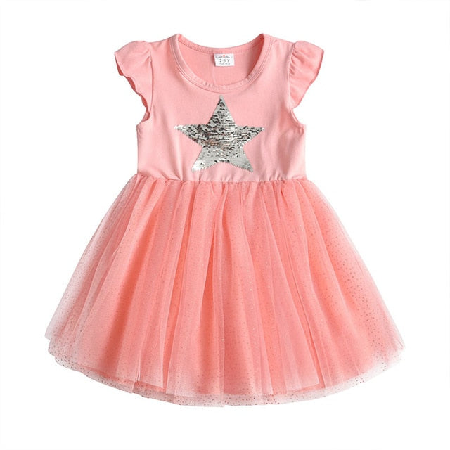 Unicorn Princess Dress Cotton