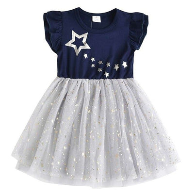 Stars Unicorn Dress Princess