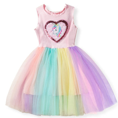 Unicorn Dress Heart Symbol