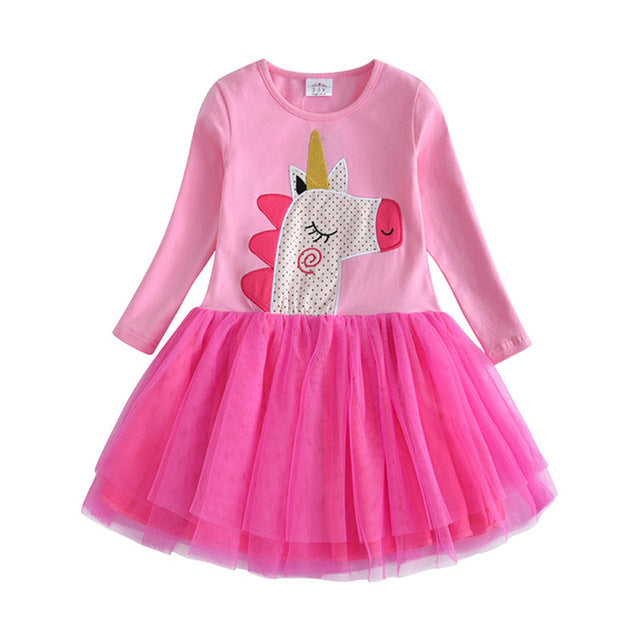 Unicorn Tutu Dress Kids Toddlers