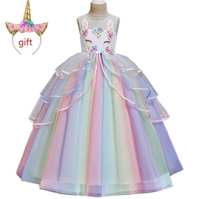 Unicorn Dress Wedding for Girls
