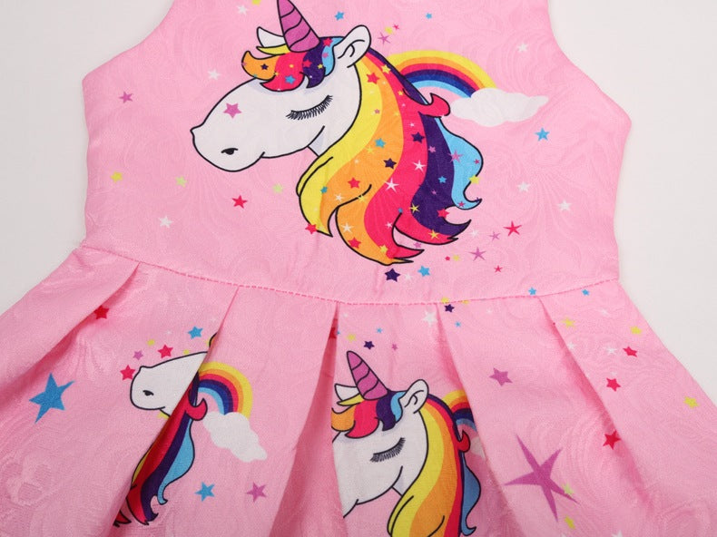 Unicorn Dress Baby Girl Clothing