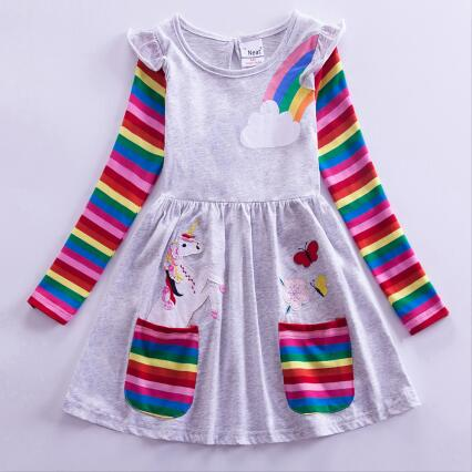 Casual Rainbow Unicorn Costume