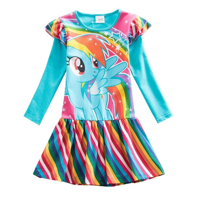 Rainbow Unicorn Costume Toddlers