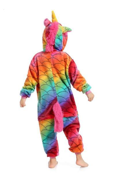 Rainbow Fish Unicorn Costume for Kids
