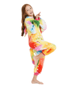 Rainbow Unicorn Onesie Costume Toddler Dance
