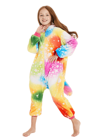Rainbow Unicorn Onesie Costume Toddler