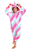 Unicorn Onesie Costume Pajama Party Kids