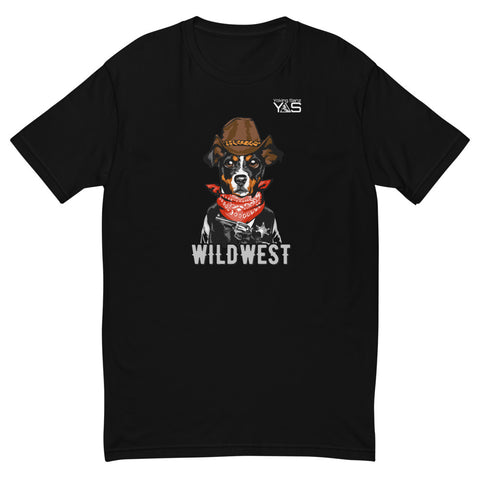Camiseta de chico ajustada STYLE FASHION wildwest