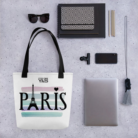 Bolso grande blanco PARIS