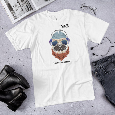 Camiseta unisex STYLE FASHION perro audio