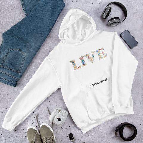 Sudadera LIVE FASHION COLOR