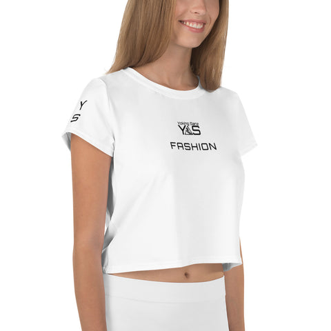 Camiseta corta SPORT&FASHION blanca