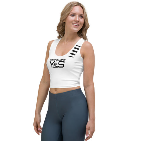 Top corto SPORT&FASHION blanco