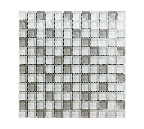Mono Serra Mosaics glass off white
