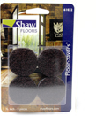 "1-1/2"" Brown Felt Floor Savers"