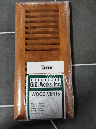 Grill Works Wood Vent Birch
