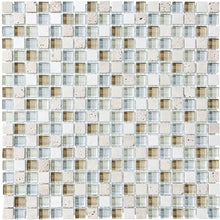 Load image into Gallery viewer, Anatolia Bliss Glass & Stone Elite Spa Mosaic