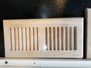 "4""x10"" Unfinished Surface Mount Grill for Duct opening"