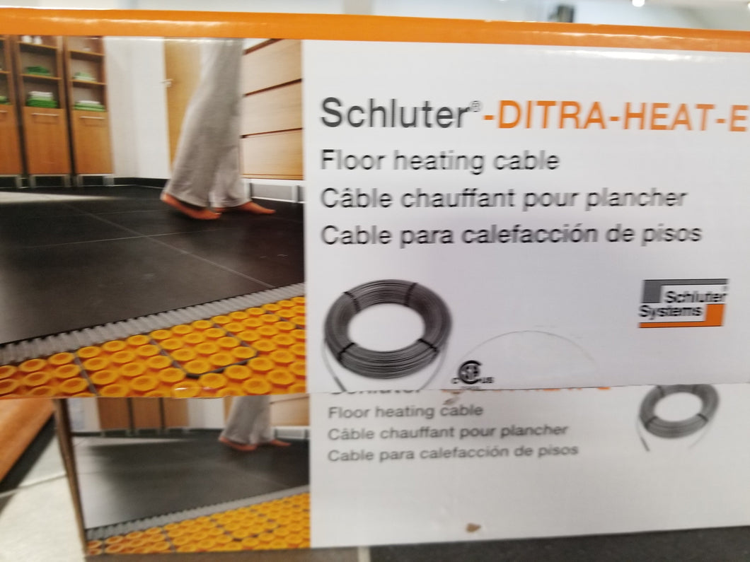 Ditra-Heat-E Cable