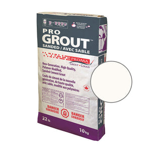 Proma Pro Grout Sanded Arctic White 10kg