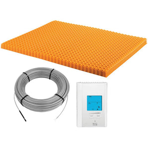 Schluter Ditra-Heat 43.1 sq. ft. Electric Flooring Warming Kit