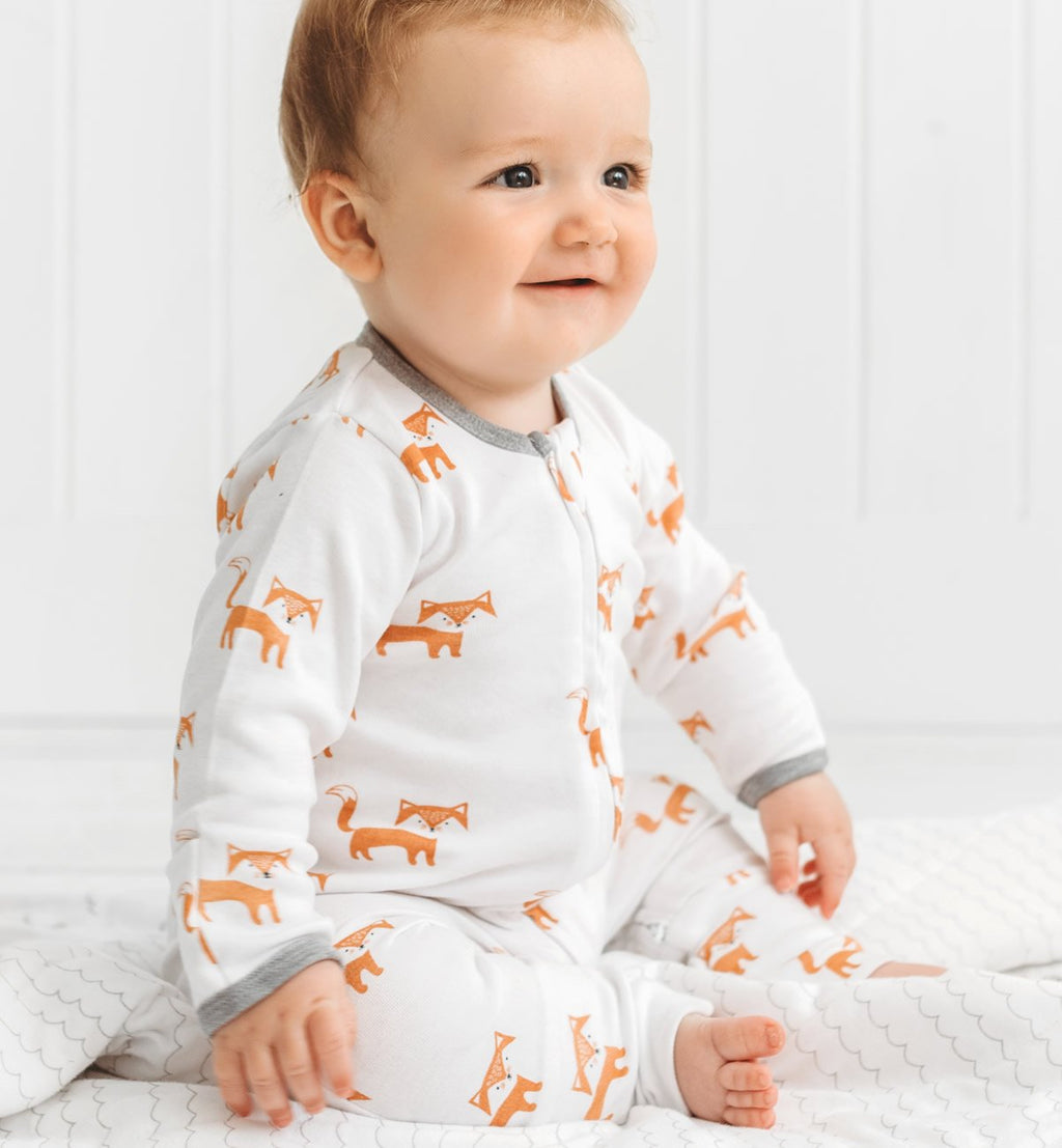 Kit & Kin Fox organic cotton All-in-one
