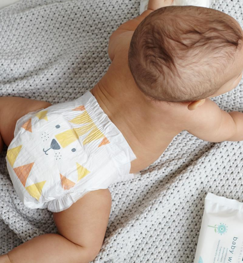 Super absorbent tiger eco nappies
