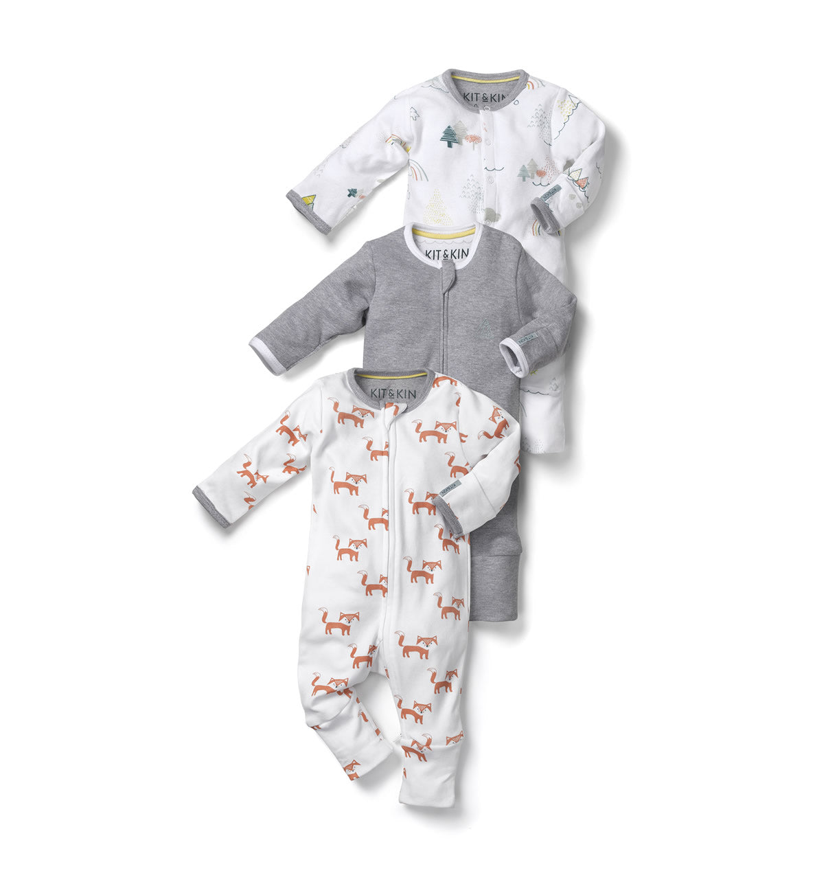 Kit & Kin organic cotton world All-in-one bundle